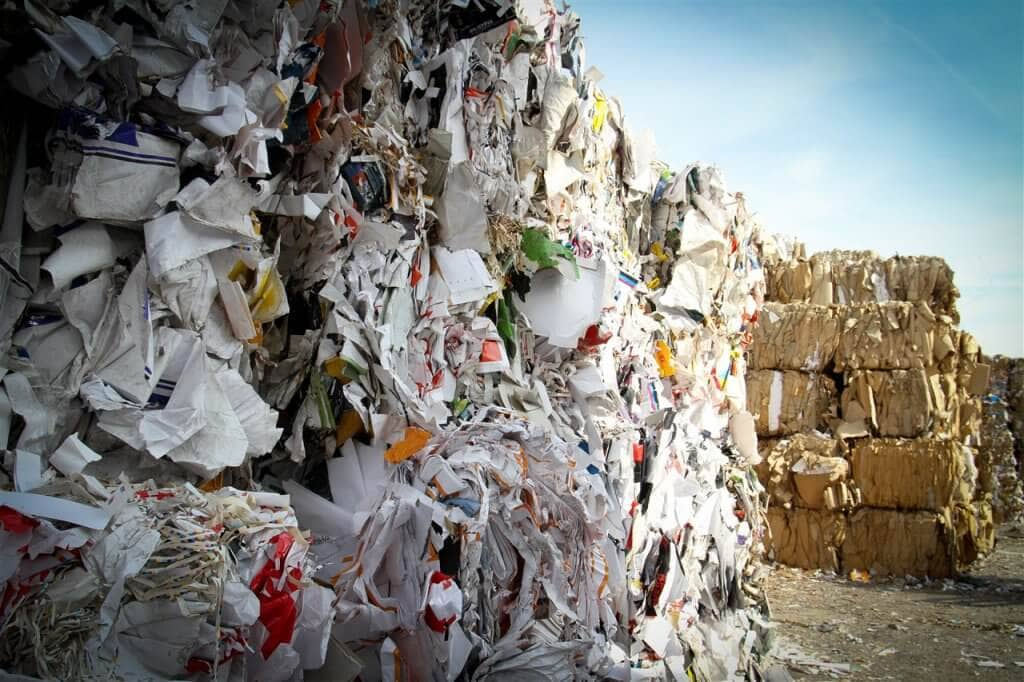 Blocks of Recyclable Paper